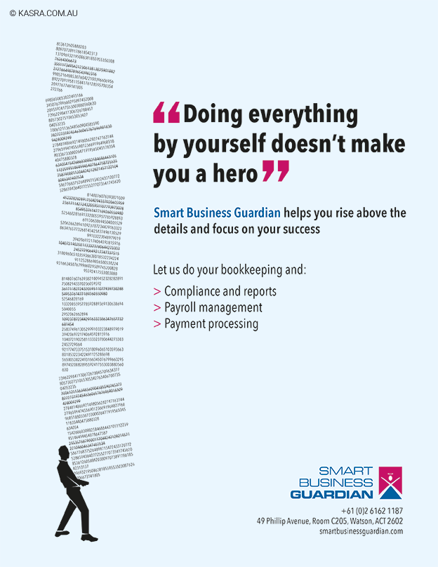 Smart business guardian advertising campaign